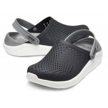 Crocs LiteRide Clog schwarz/grau Sandale Herren/Damen