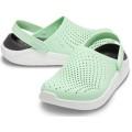 Crocs LiteRide Cloq int/weiss Sandale Damen (Größe 41-42)