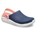 Crocs LiteRide Cloq 2019 navy/melone Sandale Damen