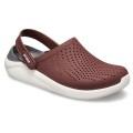 Crocs LiteRide Cloq 2019 burgund/weiss Sandale Damen