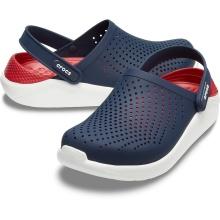 Crocs LiteRide Cloq 2020 navy/rot Sandale Damen