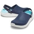 Crocs LiteRide Cloq 2020 navy/hellblau Sandale Damen