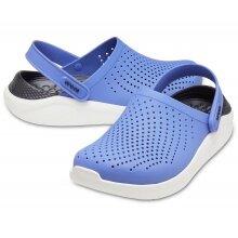 Crocs LiteRide Clog lapisblau/schwarz Sandale Herren/Damen