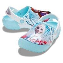 Crocs Clog Fun Lab Disney Frozen2 hellblau Sandale Kinder