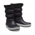Crocs Crocband Boot schwarz/weiss Stiefel Damen