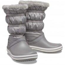 Crocs Crocband Boot grau Stiefel Damen