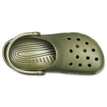 Crocs Classic Clog dunkelgrün Sandale Herren/Damen