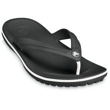 Crocs Crocband Flip schwarz Zehensandalen Damen
