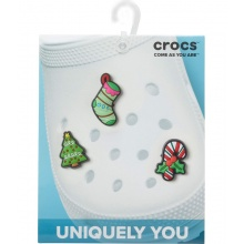 Crocs Jibbitz Happy Holidays - 3 Stück