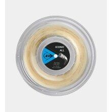Dunlop Tennissaite Iconic All (Power+Kontrolle) natur 200m Rolle