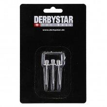 Derbystar Ersatznippel Metall für Ballpumpe Micro/Luftdruckprüfer 3er