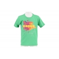 Diadora Tshirt Logo grün Boys
