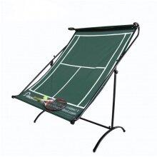 DkSport Tenniswand mobil dunkelgrün