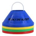 Dunlop Markierungshütchen SET 20 Stück farblich sortiert