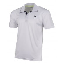 Dunlop Tennis-Polo Club 2021 (100% Polyester) weiss Herren