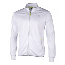Dunlop Tennisjacke Club Knitted weiss Herren