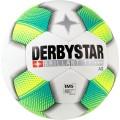 Derbystar Fussball Brilliant TT AG weiss/gelb/petrol