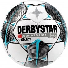 Derbystar Fussball Bundesliga Brilliant Replica S-LIGHT weiss/schwarz/blau
