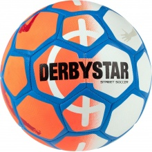 Derbystar Fussball Street Soccer orange/weiss/blau