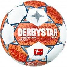 Derbystar Fussball Bundesliga Brilliant APS v21 2021/2022 weiss/orange/blau