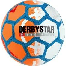Derbystar MINIball Street Soccer (47cm) orange/weiss - 1 Stück