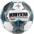 Derbystar Miniball Bundesliga Brilliant weiss/schwarz/blau