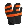 DexShell Handschuhe Striped wasserdicht orange Kinder