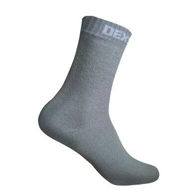 DexShell Socke Ultrathin Bamboo wasserdicht grau Herren/Damen 1er