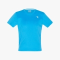 Diadora Tshirt Team 2017 blau Boys