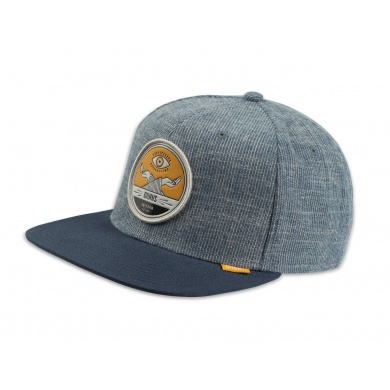Djinns Cap 6P Snapback Brushed Stripes navy