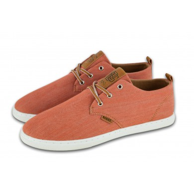 Djinns Low Lau Linen 2015 burned orange Sneaker Herren