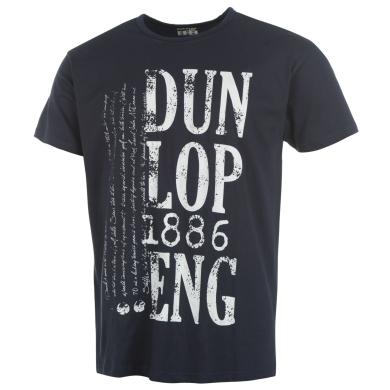 Dunlop Tshirt England 2014 navy Herren