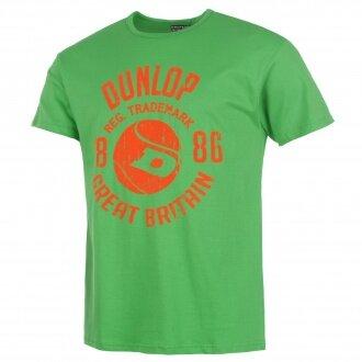 Dunlop Tshirt Ball Logo 2014 grün Herren