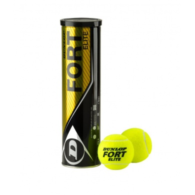 Dunlop Fort Elite Tennisbälle 4er