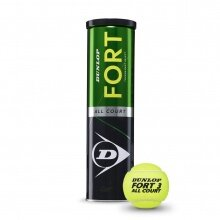 Dunlop Fort Allcourt TS Tennisbälle 4er