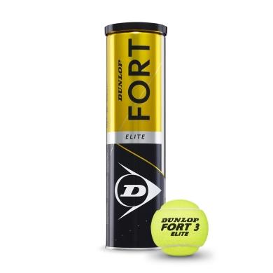 Dunlop Tennisbälle Fort Elite Dose 4er