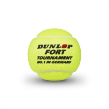 Dunlop Tennisbälle Fort Tournament DTB Dose 36x4er im Karton