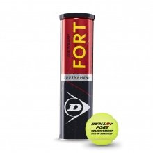 Dunlop Fort Tournament DTB Tennisbälle 4er Dose