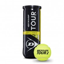 Dunlop Tour Brilliance Tennisbälle 3er Dose