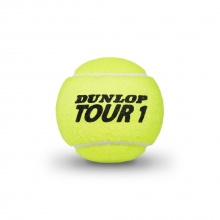 Dunlop Tour Brilliance Tennisbälle 4er