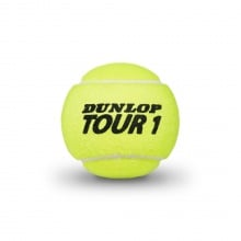 Dunlop Tennisbälle Tour Brilliance Dose 4er