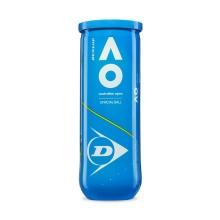 Dunlop Tennisbälle Australian Open Dose 3er