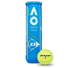 Dunlop Australian Open Tennisbälle 4er Dose