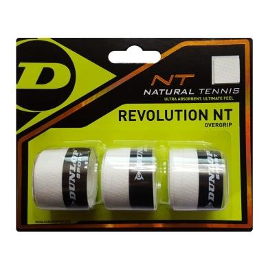 Dunlop Revolution NT Overgrip 3er weiss