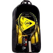 Dunlop Starter-SET CV Team 21in Kinder-Tennisschläger (4-7 Jahre) - besaitet -