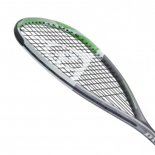 Dunlop Squashschläger Tempo Pro 5.0 TD (Teardrop) silber 165g/grifflastig - besaitet -