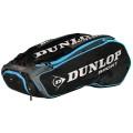 Dunlop Racketbag Performance 2017 schwarz/blau 12er