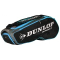 Dunlop Racketbag Performance 2017 schwarz/blau 8er