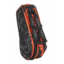 Dunlop Racketbag Natural Tennis schwarz/orange 8er