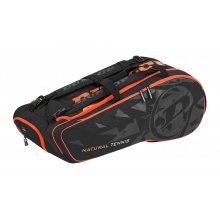 Dunlop Racketbag Natural Tennis 2018 schwarz/orange 12er
